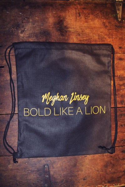 "Image of ""Bold Like A Lion"" Tote Bag"