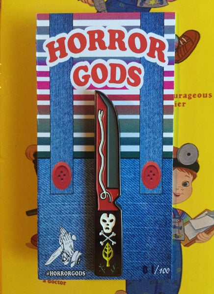 Image of VOODOO KNIFE PIN #1