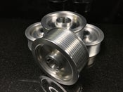 Image of Billet 10 Rib Procharger Pulley for Corvette C5 and C6