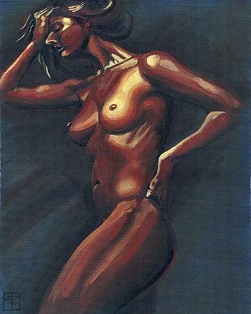 Image of Brown Woman Original