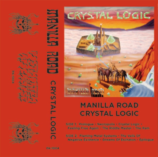 "Image of Manilla Road ""Crystal Logic"" CS /// PA-1004"