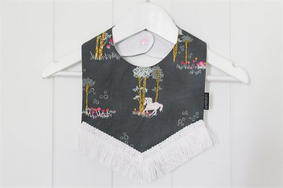 Image of Boho Bib - Whimsical Unicorn