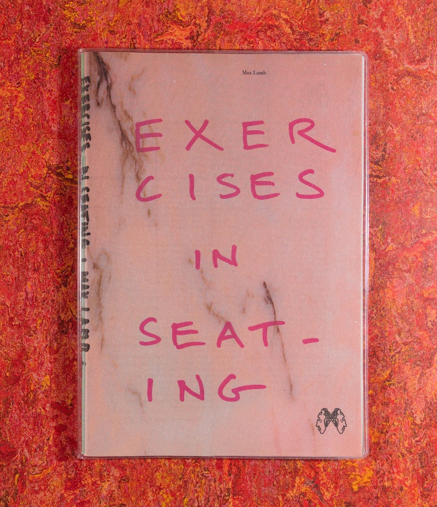 Image of Exercises in Seating <br/>— Max Lamb