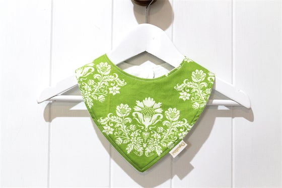 Image of Bandana Bib - Green Wallpaper