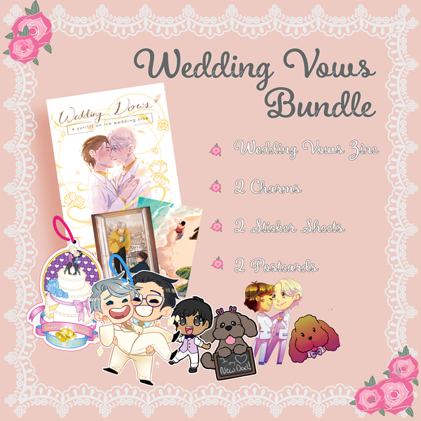 Image of SOLD OUT Wedding Vows Bundle (Zine + Merch)