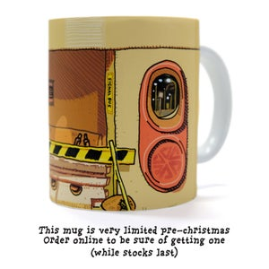 Image of BUS STOP CLOSED MUG