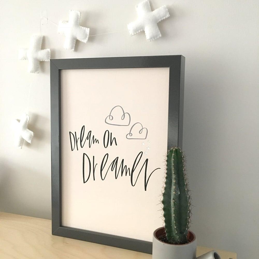 Image of Dreamer print