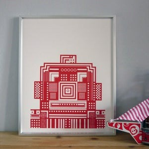 Image of Robot Screenprint