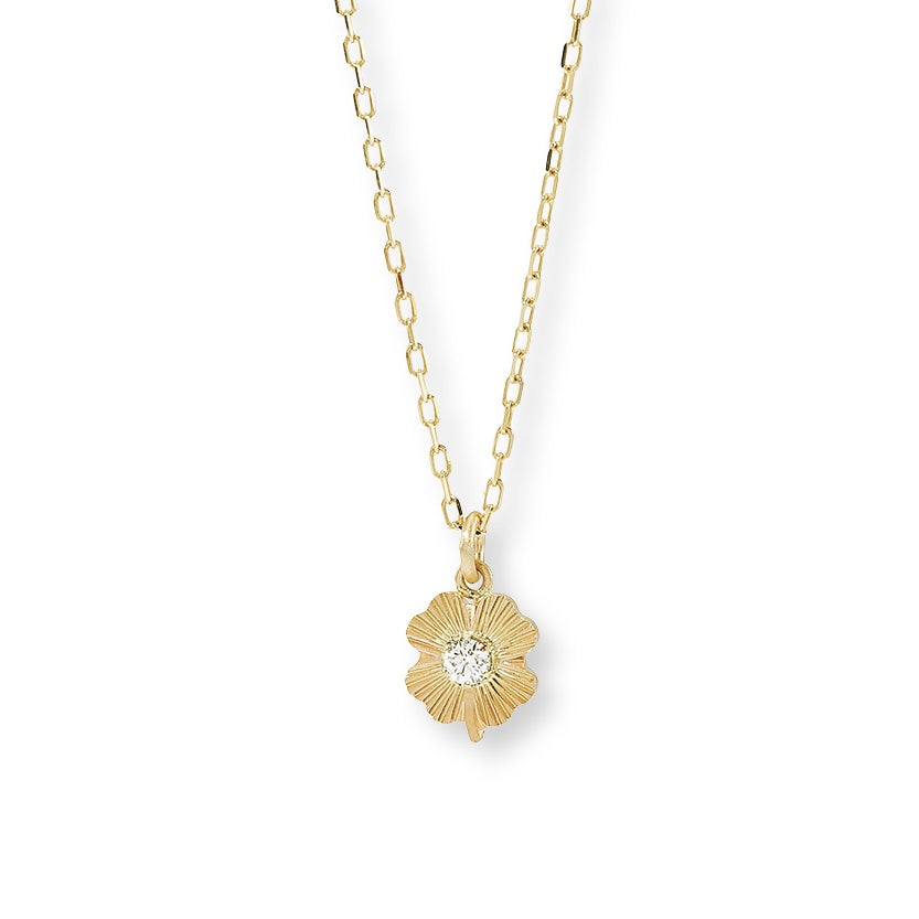 Image of Lucky Diamond Leaf / Necklace - Large