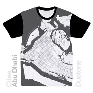 Image of Abu Dhabi map t-shirt