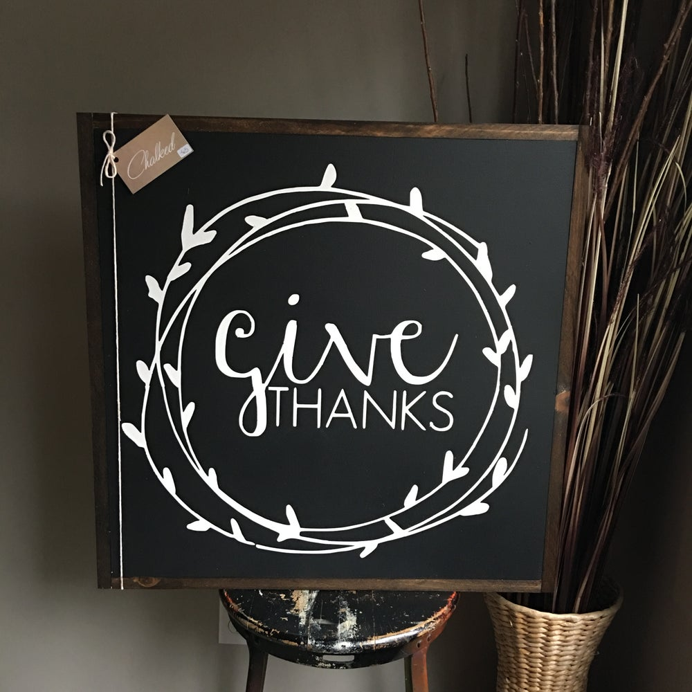 Image of Give Thanks