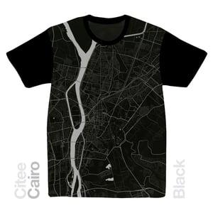 Image of Cairo map t-shirt