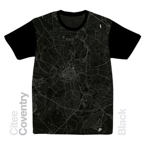 Image of Coventry map t-shirt