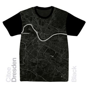 Image of Dresden map t-shirt