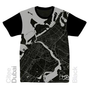 Image of Dubai map t-shirt