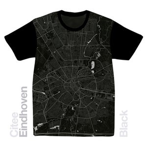 Image of Eindhoven map t-shirt