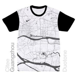 Image of Guangzhou map t-shirt