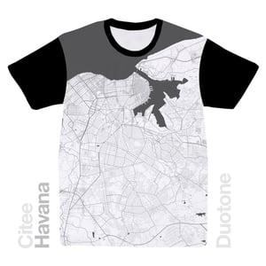 Image of Havana map t-shirt