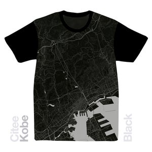 Image of Kobe map t-shirt
