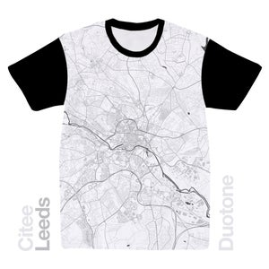 Image of Leeds map t-shirt