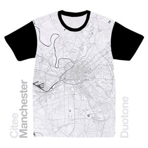 Image of Manchester map t-shirt