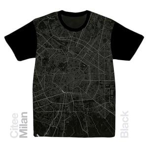 Image of Milan map t-shirt