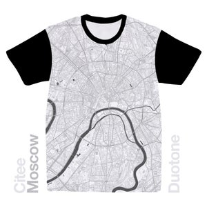 Image of Moscow map t-shirt