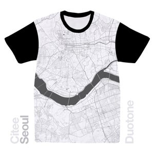 Image of Seoul map t-shirt