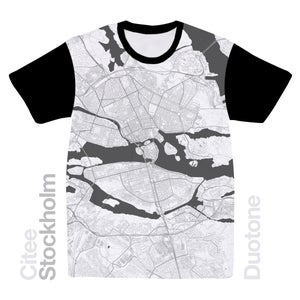 Image of Stockholm map t-shirt