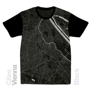 Image of Vienna map t-shirt