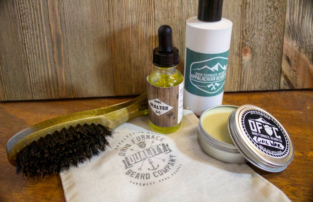 Image of Complete Beard care kit.