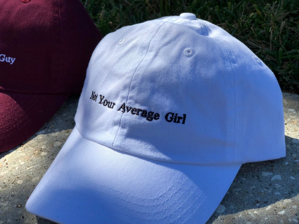 Image of White NYAGirl Dad Hat