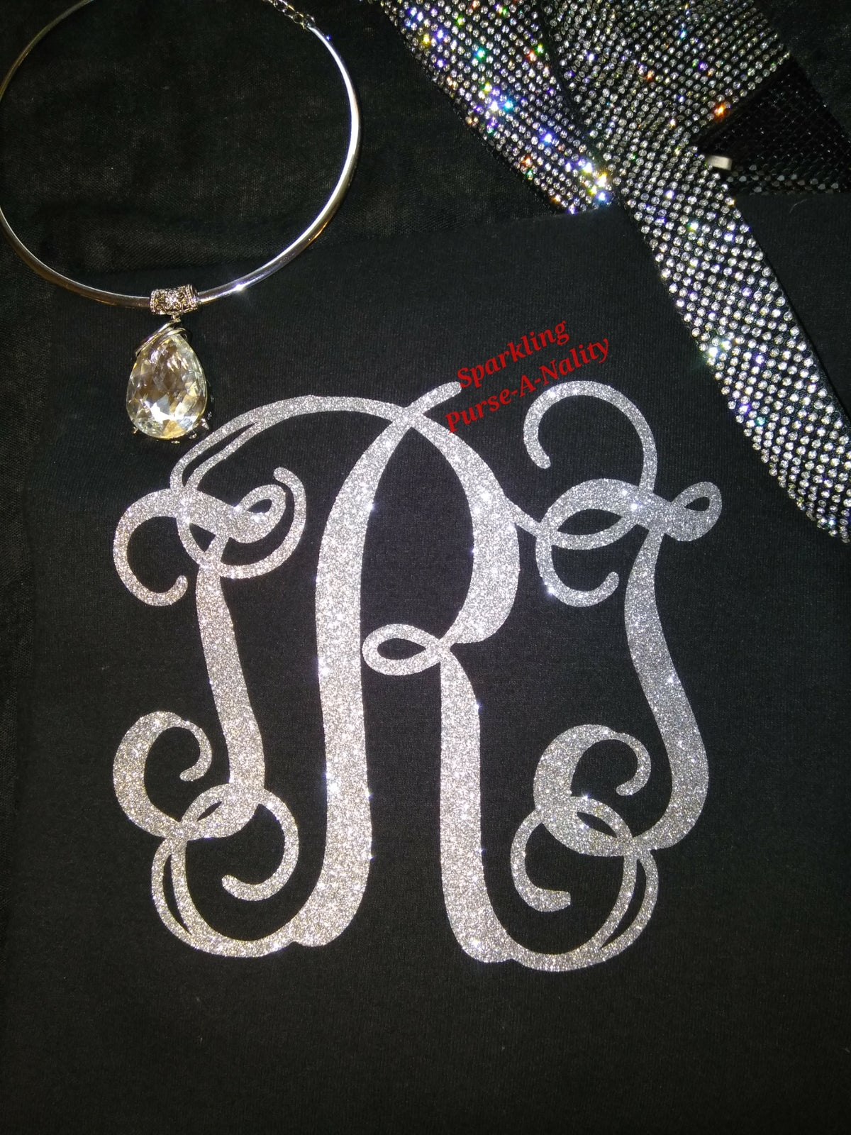 "Image of ""Sparkling"" Monogram Shirt"