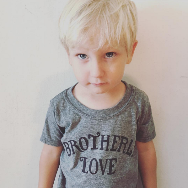 Image of Kids Brotherly Love Shirt