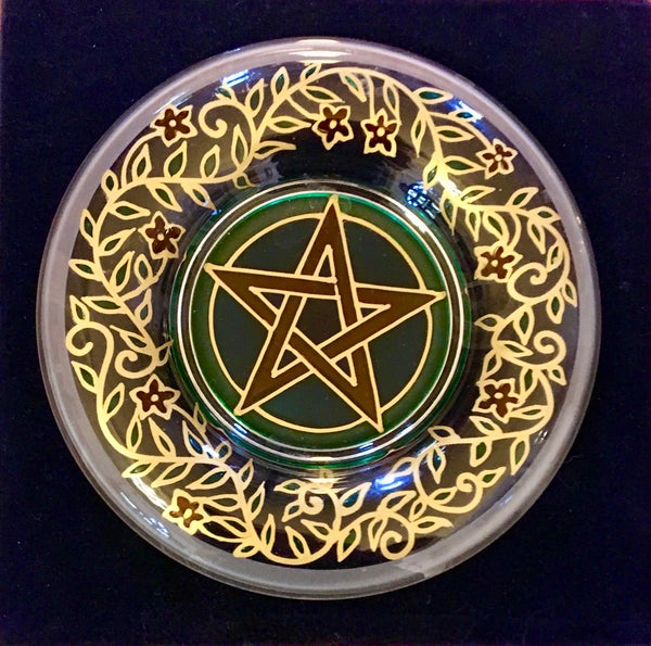 Image of Hand painted Pentagram Dish