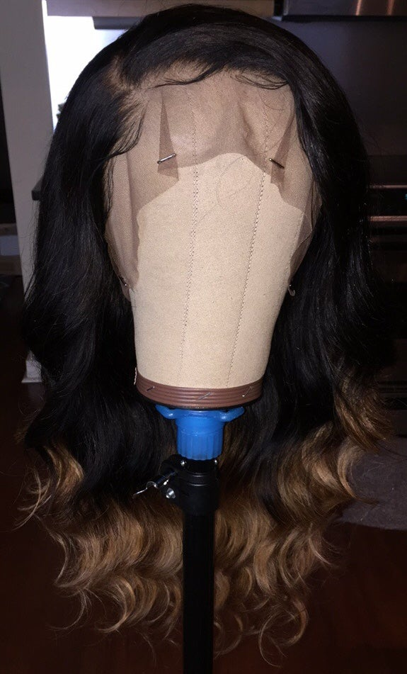 "Image of Peruvian Body Wave 22"" Ombre' Custom 360 Frontal Wig!"
