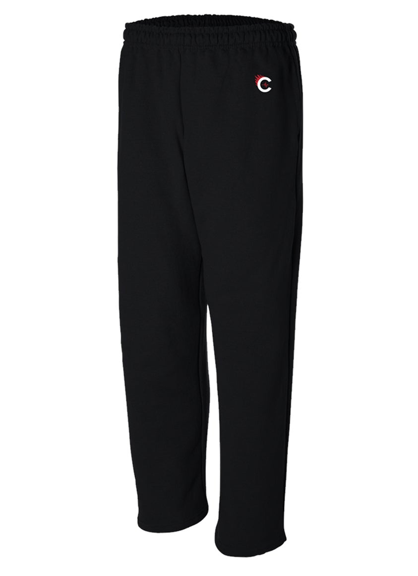 Image of CULTURE FLEE JOGGERS - BLACK