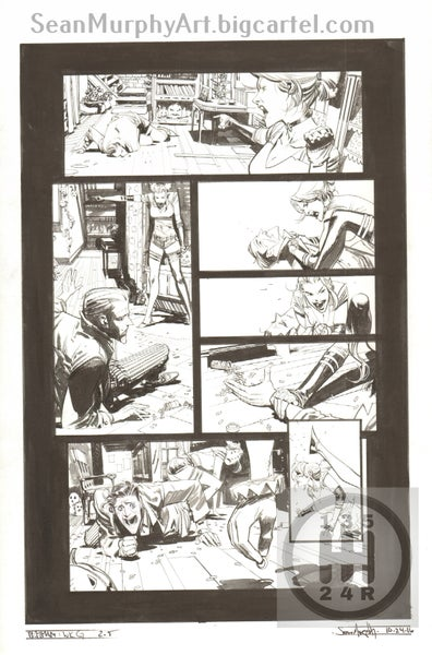 Image of Batman: White Knight #2, page 5
