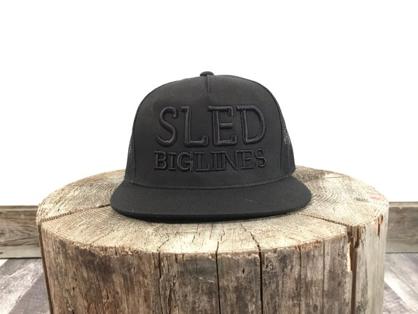 Image of Sled BigLines Black on Black