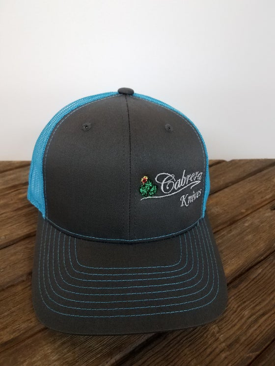Image of Cabrera Custom Knives Cap Blue