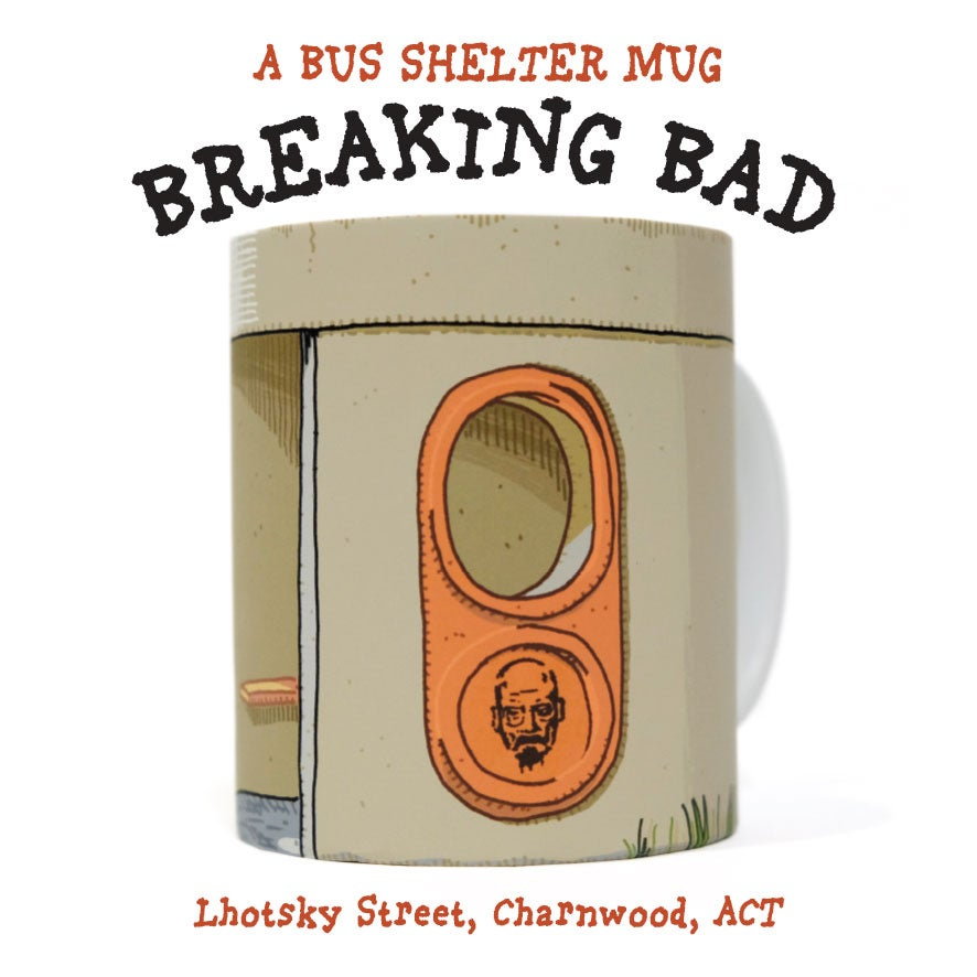 Image of BREAKING BAD BUS STOP MUG