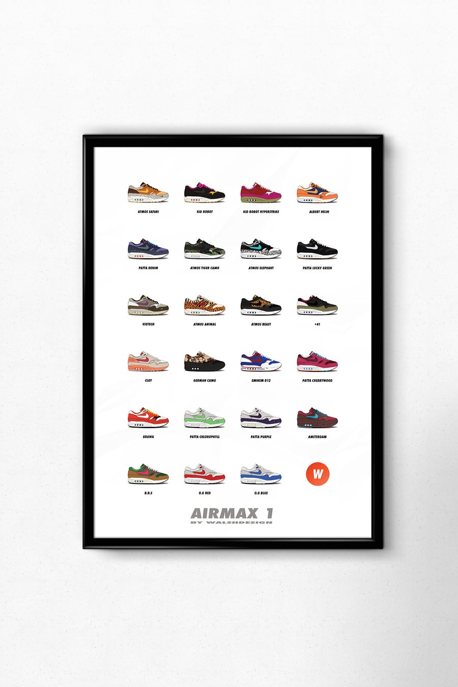 Image of AIRMAX 1 A3 POSTER