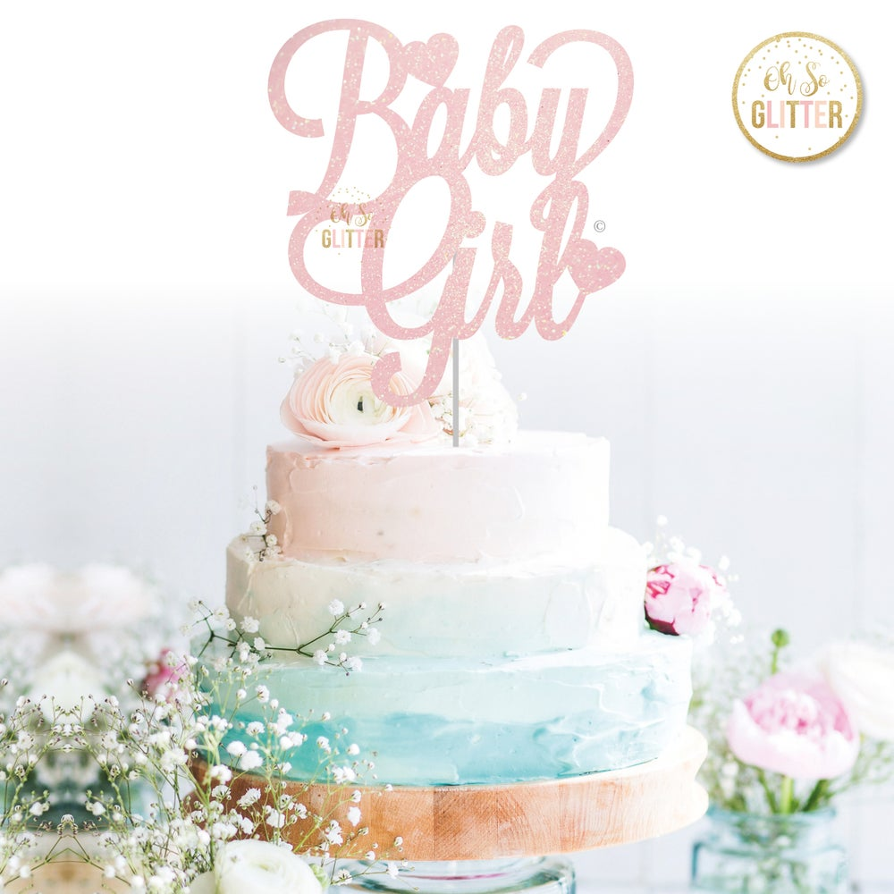 Image of Baby Girl/Boy cake topper