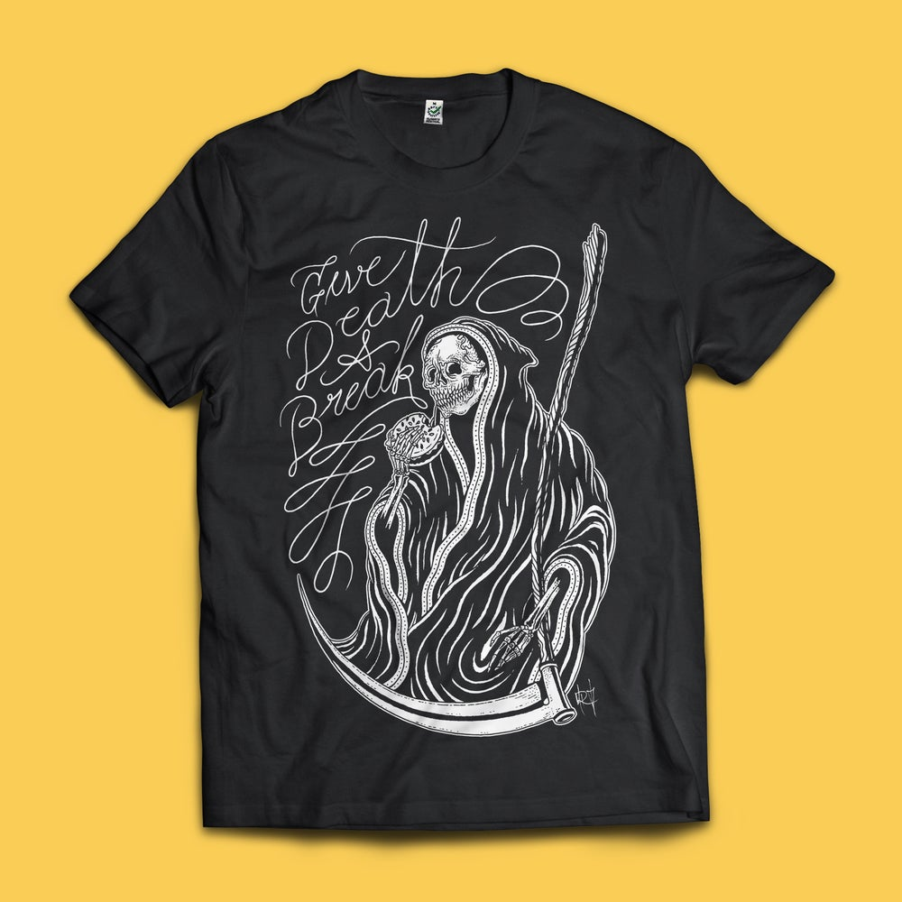 Image of V Rev x Ghost Dagger 'Give Death a Break' Tee