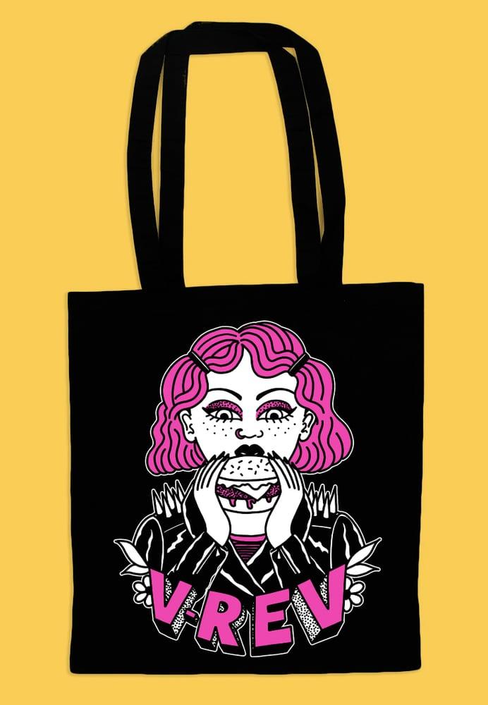 Image of V Rev x Harriet Heath Tote Bag