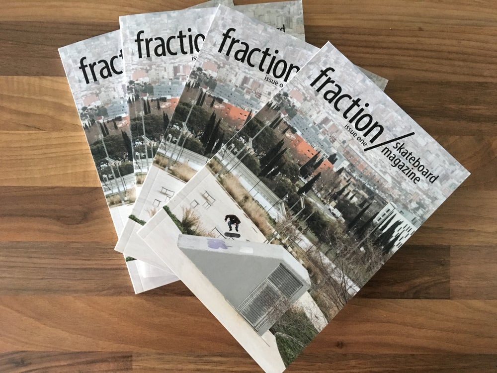 Image of Fraction Skateboard Magazine Issue One
