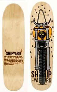 "Image of Shipyard Skates ""MOTO DEVIL"" deck"