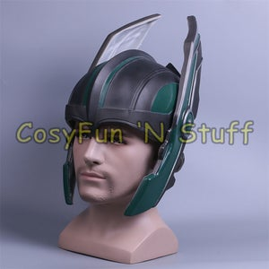 Image of Thor 3 Ragnarök Helmet Chris Hemsworth Cosplay PVC Helmet Handmade Mask New