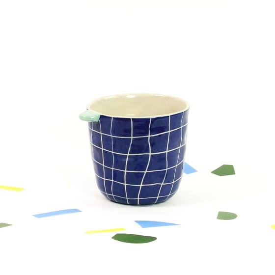 Image of Tasse à thé piscine bleue
