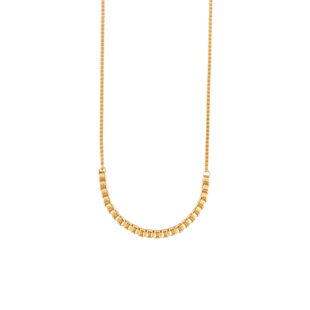 goldplated product box plated image lobogato gold of long close packshot necklace chain bar